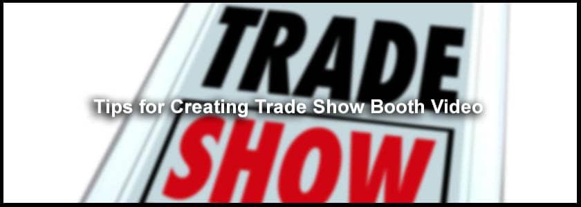 trade show video